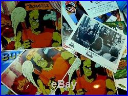 Vintage Troma Studios Lot Original Film Cells Posters TOXIE Toxic Crusaders