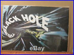Vintage Walt Disney The Black Hole 1979 movie poster 7025