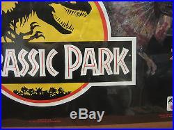 Vintage movie poster original Jurassic park Park Dwellers 1993 4949