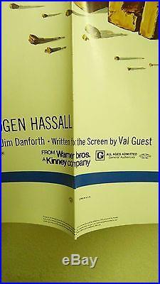 Vtg 1971 When Dinosaurs Ruled The Earth Us Orig 1sh 27x41 Film Poster V Guest