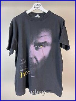 Vtg 94 Wolf movie poster werewolf vampire shirt large nicholson horror