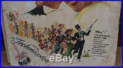 Vtg Original 1950 Irving Berlin Easter Parade 3 Sheet Movie Poster 41 X 61.5