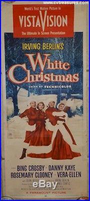 White Christmas Original Vintage Movie Poster Insert 1954